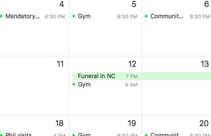 funeral-schedule