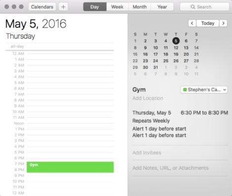 gym-schedule